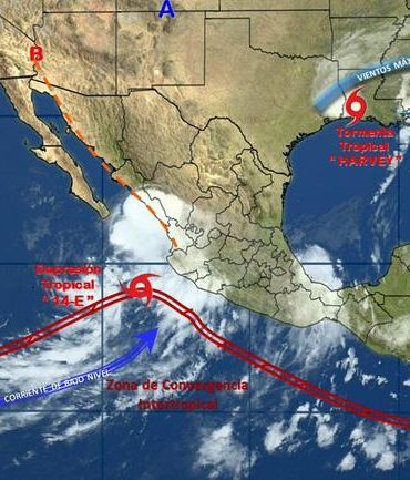 Harvey reingresa a tierra