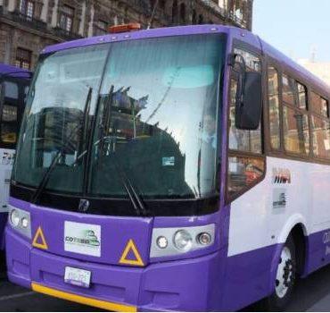 Sustituyen autobuses a micros
