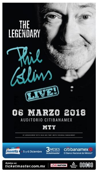 PHIL COLLINS EN VIVO EN MÉXICO