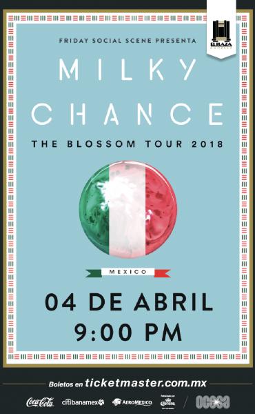 Milky Chance por 1ra vez en México