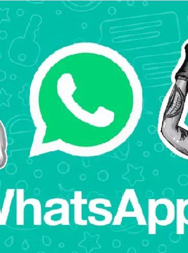 Estos son los primeros stickers que podrás usar en WhatsApp