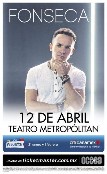 Pisará Fonseca el Teatro Metropólitan