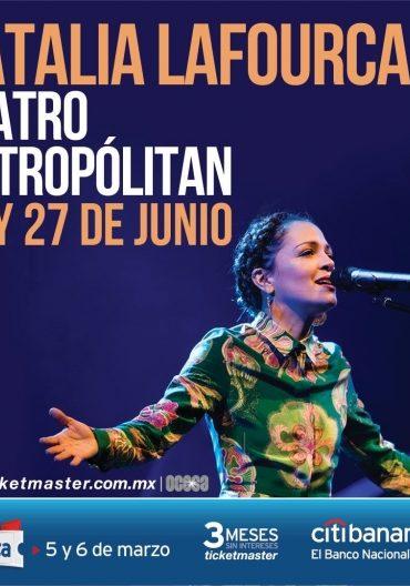 Natalia Lafourcade regresa a los escenarios