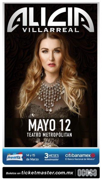 Alicia Villarreal ¡Regresa a los escenarios!