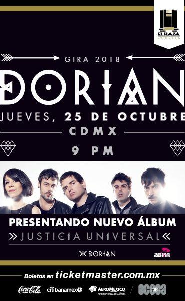 Dorian regresa a El Plaza Condesa