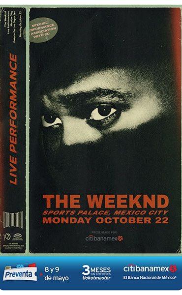 The Weeknd anuncia concierto en México