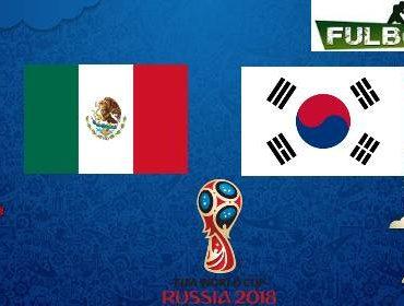 México vs Corea del Sur: fecha, hora y canales del partido por el Mundial Rusia 2018