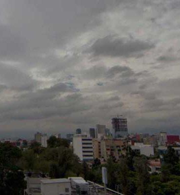 Registrará cielo nublado la CDMX