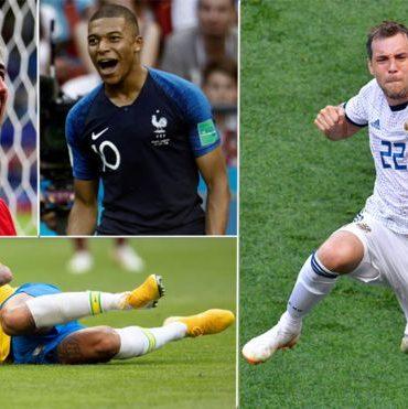 Cuartos de final: lo que necesitas saber antes de los cruciales partidos del Mundial de Rusia 2018